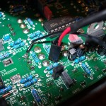 inside the dark energy, pins soldered